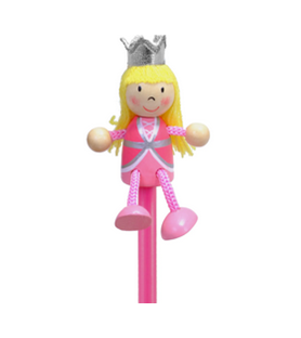 Crayon de papier princesse