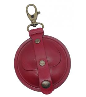 Aumonière médiévale rouge, moyen format M