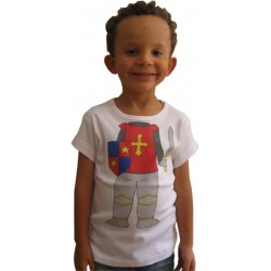 Tee-shirt corps de chevalier